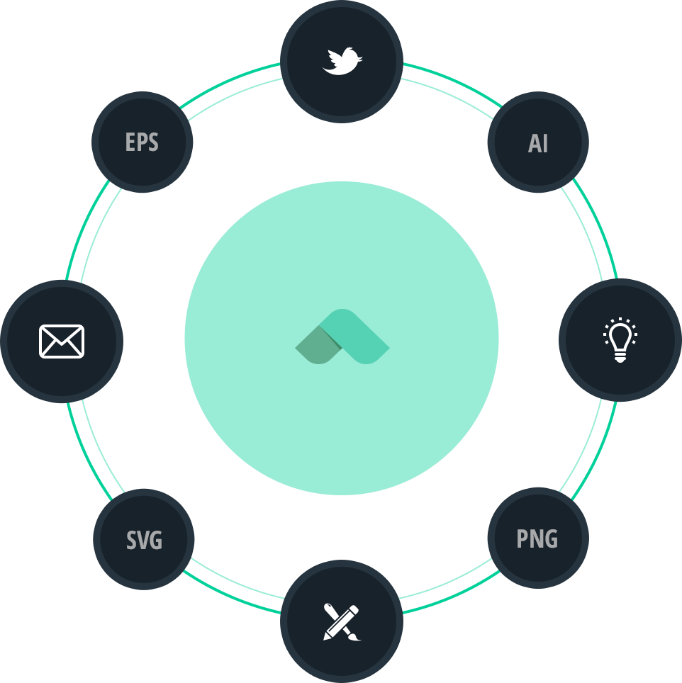 Vector Icon with developer license